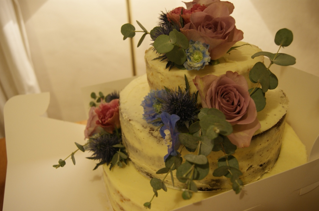 A Wedding Cake. – Baking to Happiness